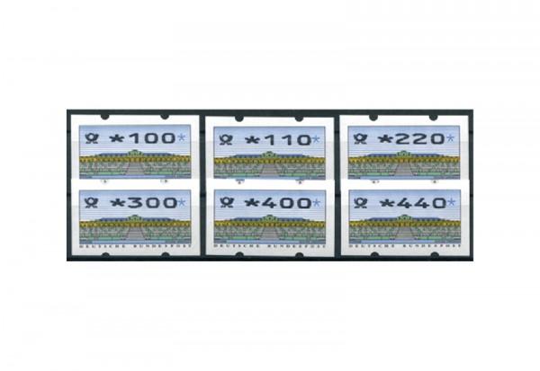 BRD ATM 2.2.3. VS 2 postfrisch 6 Werte
