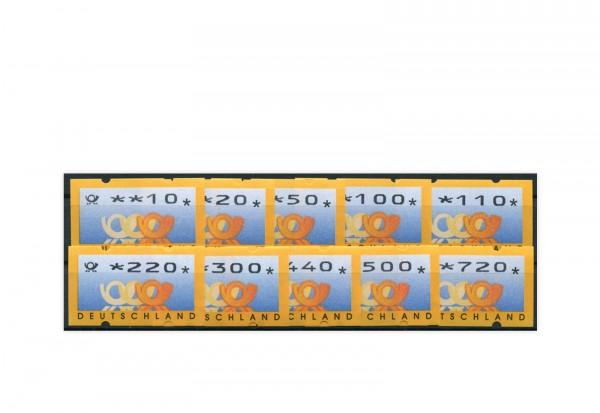 BRD ATM 3.3. VS 2 postfrisch 14 Werte
