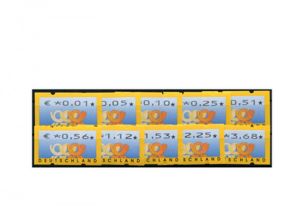 BRD ATM 4.1. VS 1 postfrisch 10 Werte
