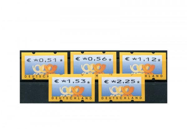 BRD ATM 4.1. VS 2 postfrisch 5 Werte
