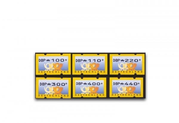 BRD ATM 3.1. VS 1 postfrisch mit Zählnummern 6 Werte