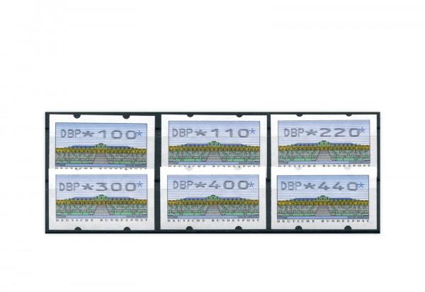 BRD ATM 2.2.1. VS 4 postfrisch mit Zählnummern 6 Werte
