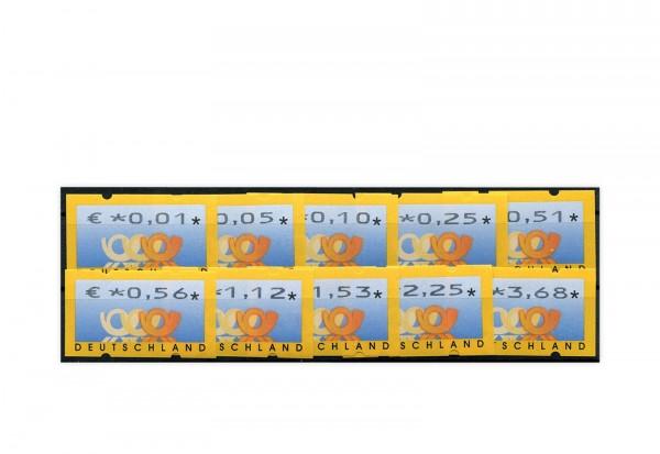 BRD ATM 4.1. VS 1 postfrisch mit Zählnummern 10 Werte