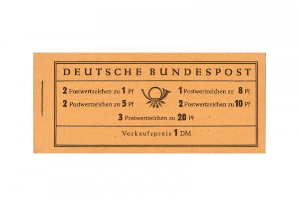 BRD Markenheftchen 4 Y 1960 Heuss und Ziffer postfrisch