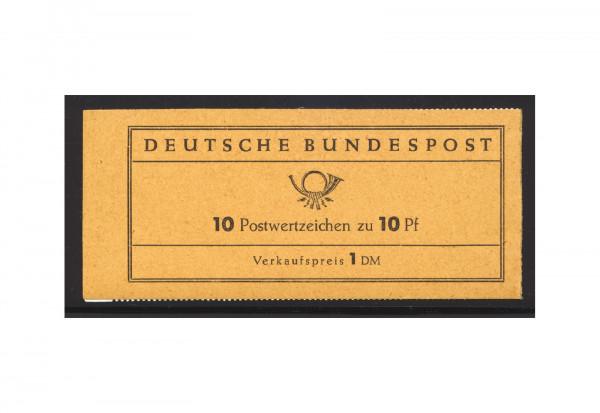 BRD Markenheftchen 6 1961 Heuss I