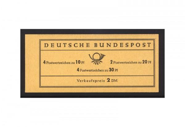 BRD Markenheftchen 1967 Brandenburger Tor postfrisch