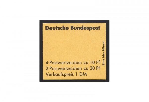 BRD Markenheftchen 1972 Unfallverhütung postfrisch