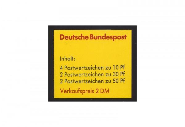 BRD Markenheftchen 21 Burgen und Schlösser 1977