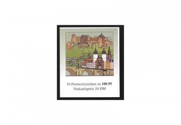 BRD Markenheftchen 33 1996 800 Jahre Heidelberg postfrisch