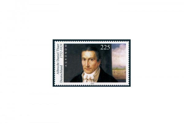 BRD 250. Geburtstag von Albrecht D. Thaer 2002 Michel Nr. 2255 II gestempelt