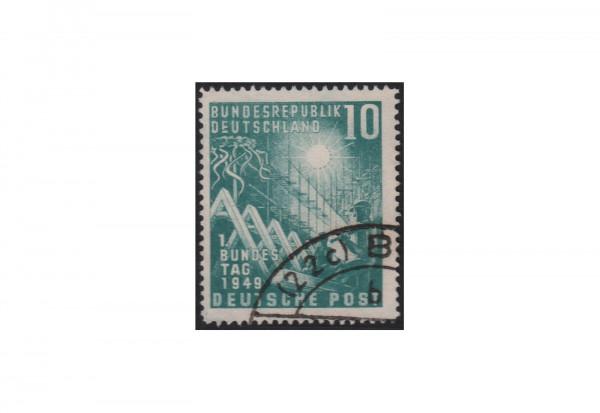 BRD Plattenfehler Michel-Nr. 111 II gestempelt