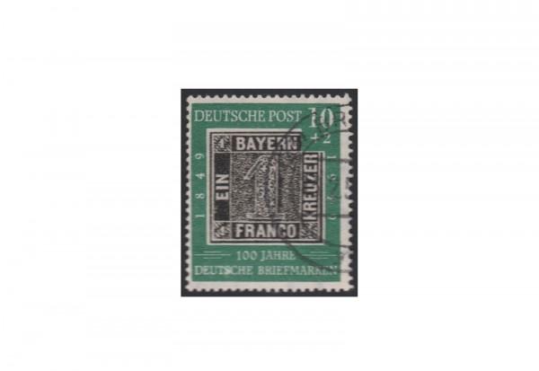 BRD Plattenfehler Michel-Nr. 113 IV gestempelt S verdickt