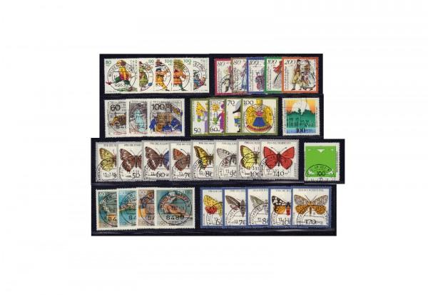 Briefmarken Sammlung Bundesrepublik Deutschland Zuschlagsmarken von 1990-1994
