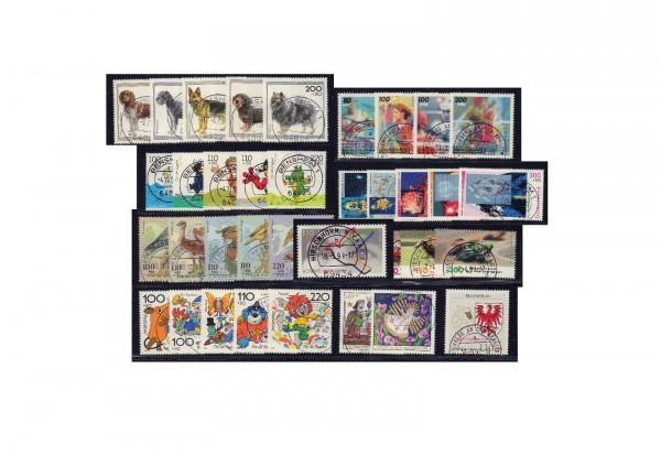 Briefmarken Sammlung Bundesrepublik Deutschland Zuschlagsmarken von 1995-1999