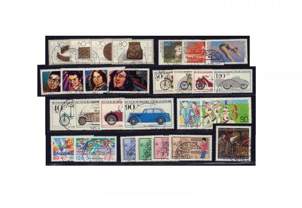 Briefmarken Sammlung Bundesrepublik Deutschland Zuschlagsmarken von 1980-1989