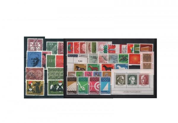Briefmarken Sammlung Bundesrepublik Deutschland Zuschlagmarken von 1960-1969