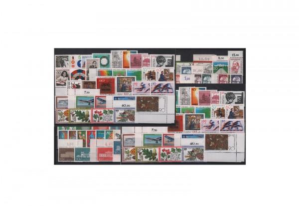 Briefmarken Sammlung Bundesrepublik Deutschland Zuschlagsmarken 1970-1979