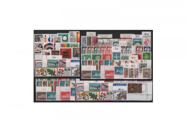 Briefmarken Sammlung Bundesrepublik Deutschland Zuschlagsmarken von 1970-1979