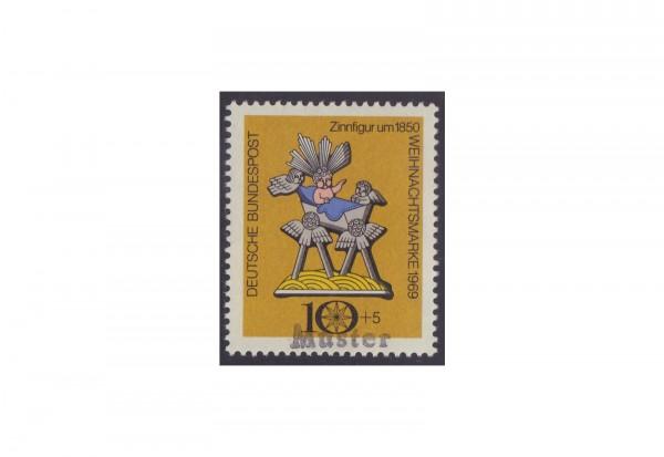 BRD Weihnachtsmarke 1969 Michel Nr. XII postfrisch