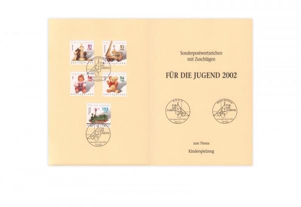 BRD Mi.Nr. 2260-2264 gest. auf Ministerkarte