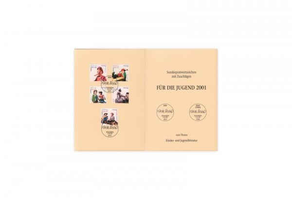 Briefmarken BRD Figuren aus Kinder- und Jugendbüchern 2001 Michel-Nr. 2190-2194 gestempelt