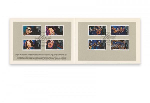 Briefmarken BRD und Berlin 25 Jahre Jugend musiziert 1988 Michel-Nr. 1360-1363, 807-840 gestempelt