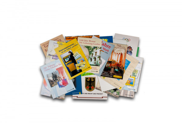 Erinnerungskarten BRD 25 verschiedene Karten