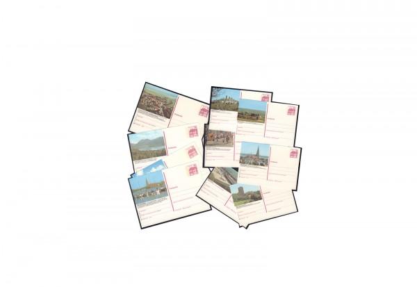 BRD 10 Bildpostkarten ungebraucht