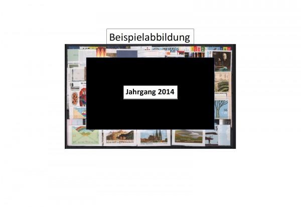 Briefmarken BRD Jahrgang 2014 Michel Nr. 3047-3121 postfrisch