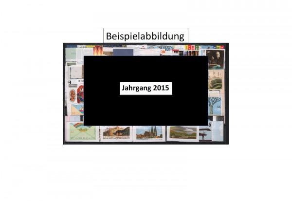 Briefmarken BRD Jahrgang 2015 Michel-Nr. 3122-3198 postfrisch