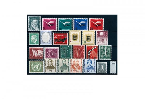 BRD Briefmarken 1955 Jahrgangsatz postfrisch