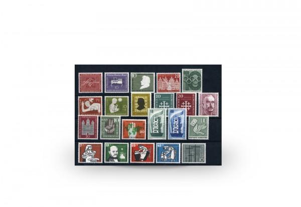 BRD 1956 Jahrgangssatz Mi.Nr. 227-248 postfrisch