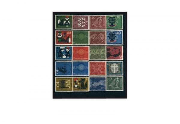BRD Jahrgang 1960 Mi.Nr. 326-345 postfrisch