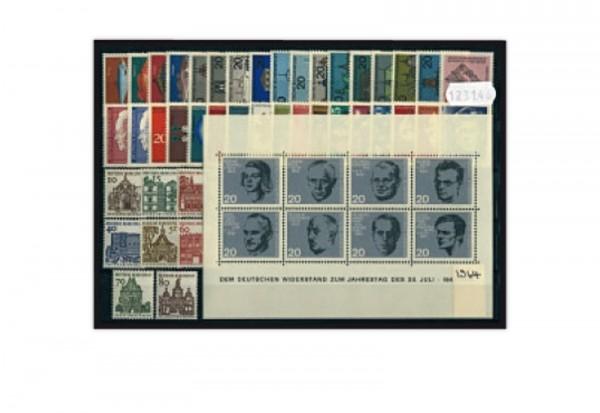 BRD Jahrgangsatz 1964 Mi.Nr. 412-461 postfrisch