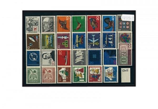BRD Briefmarken Jahrgangsatz 1965 Mi.Nr. 462-488 postfrisch
