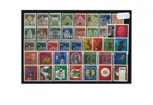 BRD Jahrgangsatz 1966 Mi.Nr. 489-528 postfrisch