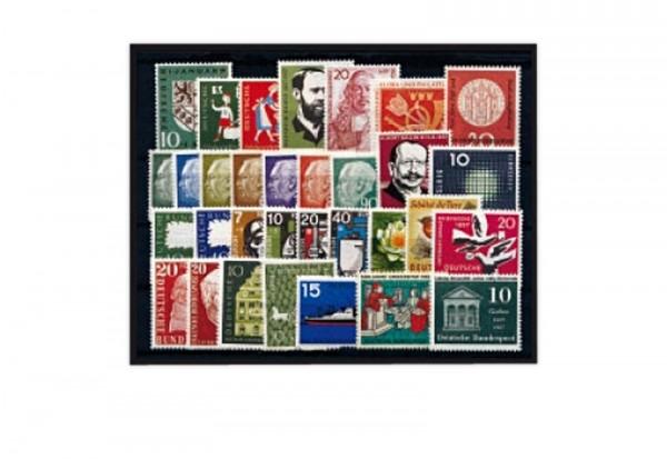 Briefmarken BRD Jahrgangsatz 1967 Michel-Nr. 529-545 postfrisch