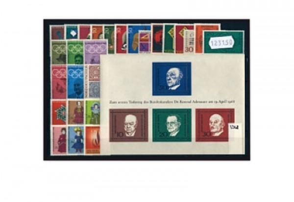 BRD Jahrgang 1968 Mi.Nr.546-575 postfrisch