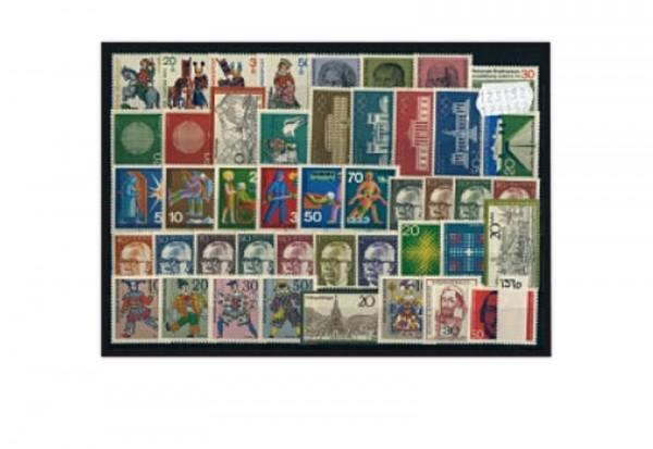 Briefmarke BRD Jahrgang 1970 Michel-Nr. 612-657 postfrisch