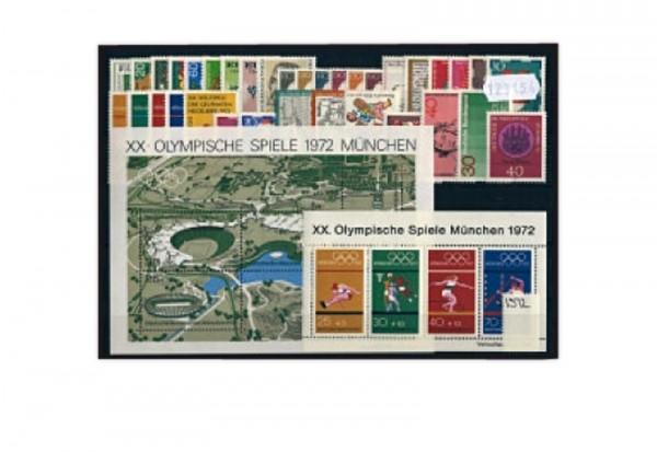BRD Jahrgangsatz 1972 Mi.Nr. 710-752 postfrisch