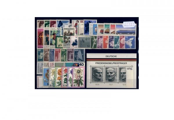 BRD Jahrgangsatz 1975 Mi.Nr. 826-874 postfrisch