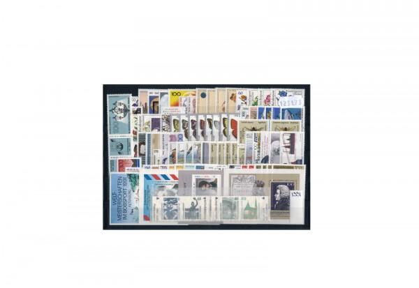 Briefmarken BRD Jahrgangssatz 1991 Michel-Nr. 1488-1581 postfrisch