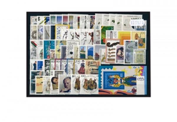 BRD Briefmarken 1993 Jahrgangsatz postfrisch