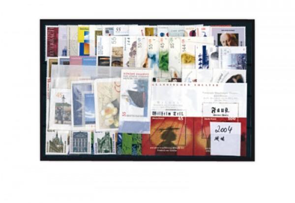 Briefmarken BRD Jahrgang 2004 Michel-Nr. 2374-2433 gestempelt