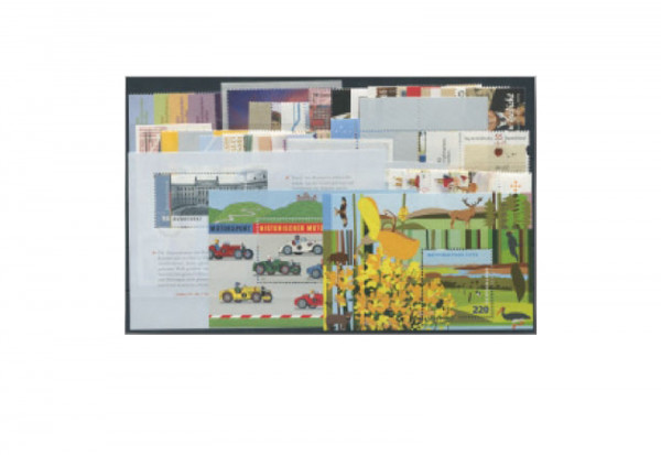 BRD Jahrgang 2009 gest. 57 Marken + 3 Blockausgaben BRD MiNr.: 2707-2767 gest.