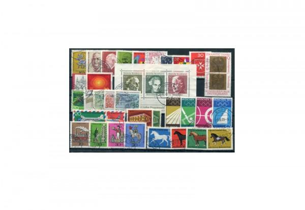 BRD Jahrgangsatz 1969 Mi.Nr. 576-611 gestempelt