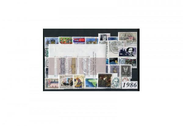 BRD Jahrgangsatz 1986 Mi.Nr. 1268-1305 gestempelt