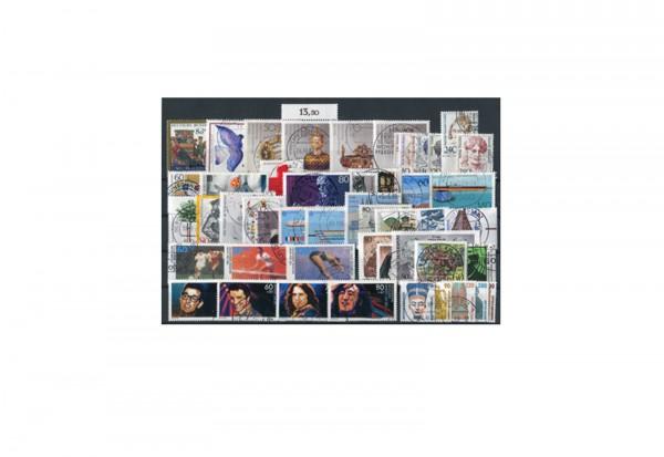 BRD Jahrgangsatz 1988 Mi.Nr. 1347-1396 gestempelt
