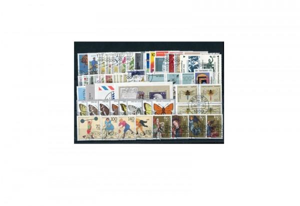 Briefmarken BRD Jahrgangssatz 1991 Michel-Nr. 1488-1581 gestempelt