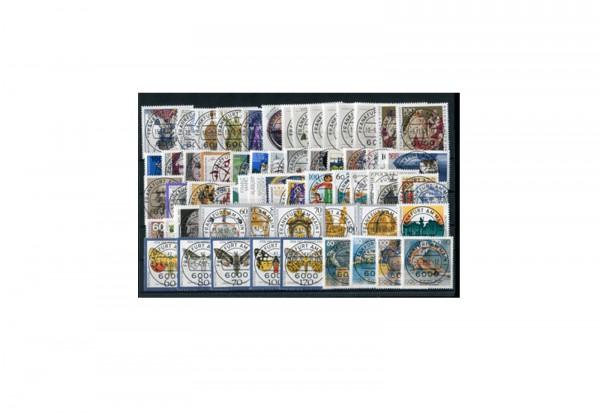BRD Briefmarken 1992 Jahrgangssatz gestempelt